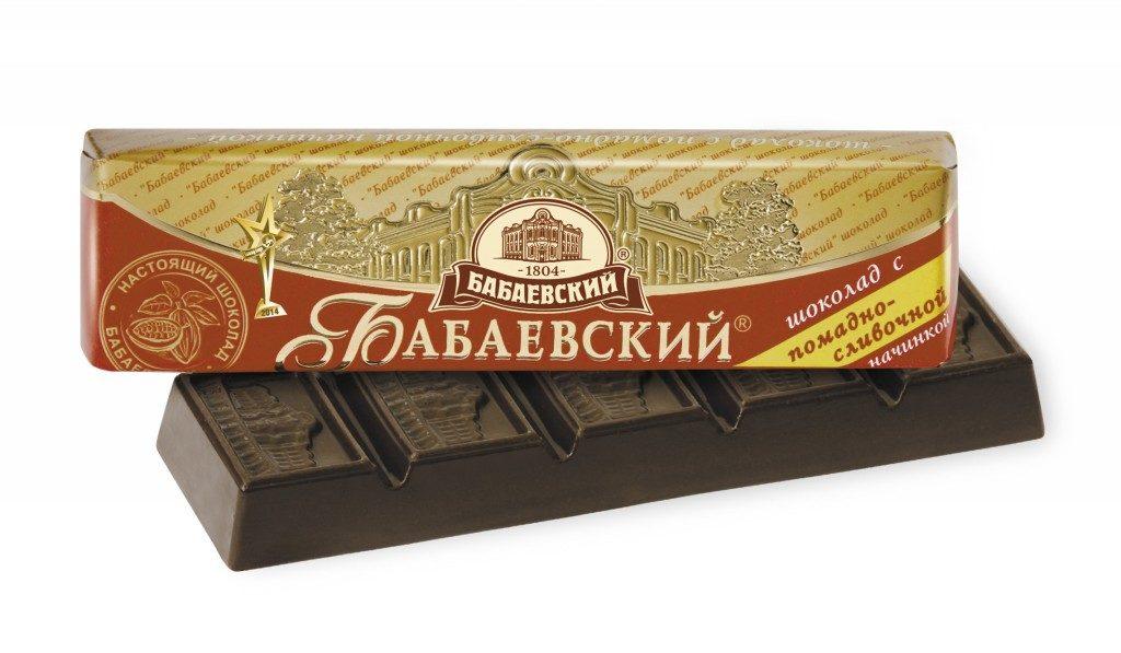бабаевский шоколадный батончик
