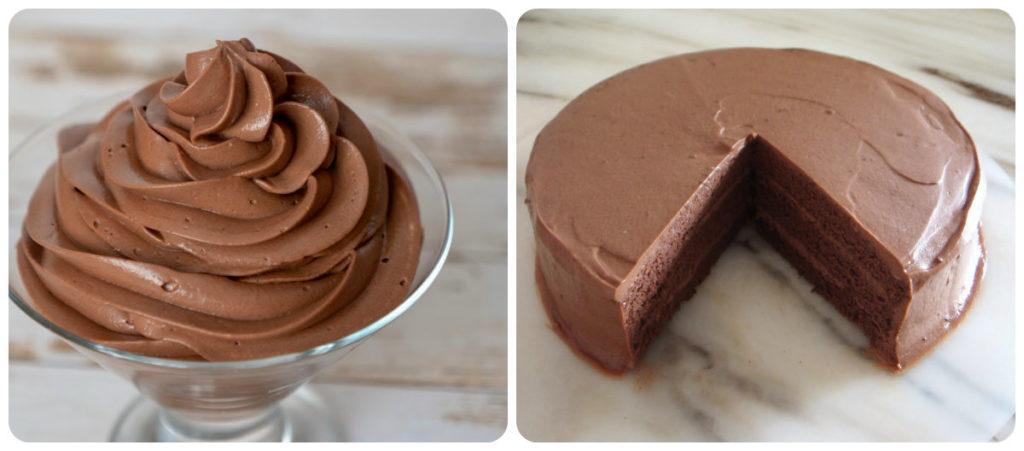Творожно-шоколадный крем рецепт