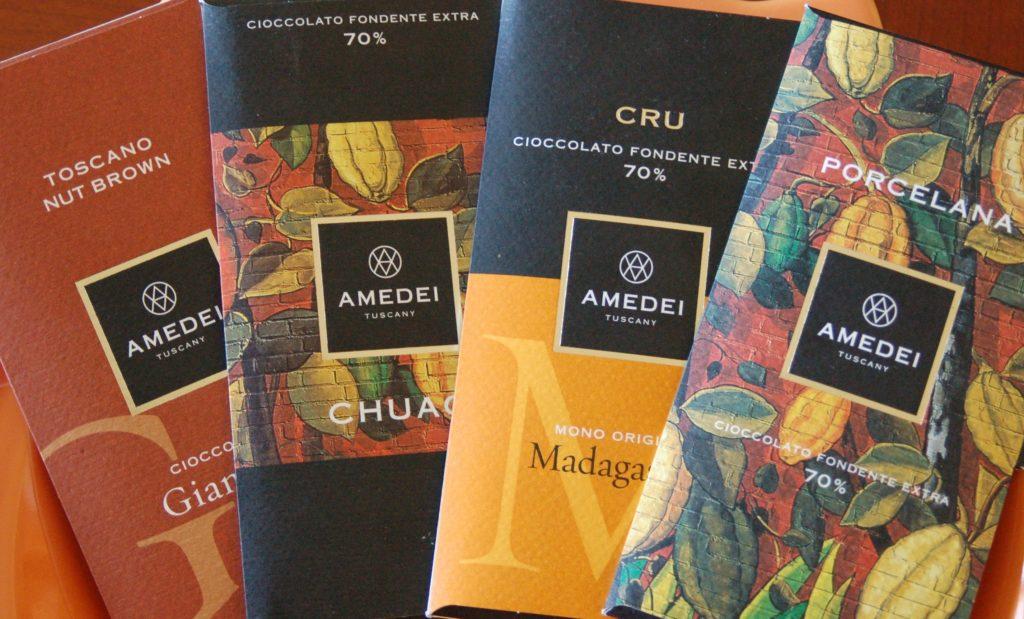 итальянский шоколад amadei