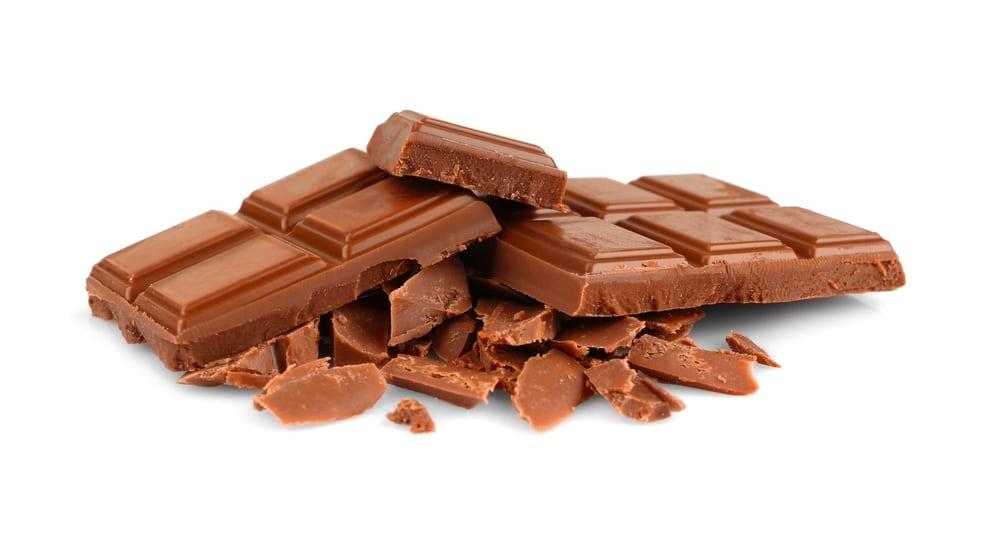вкусный молочный шоколад
