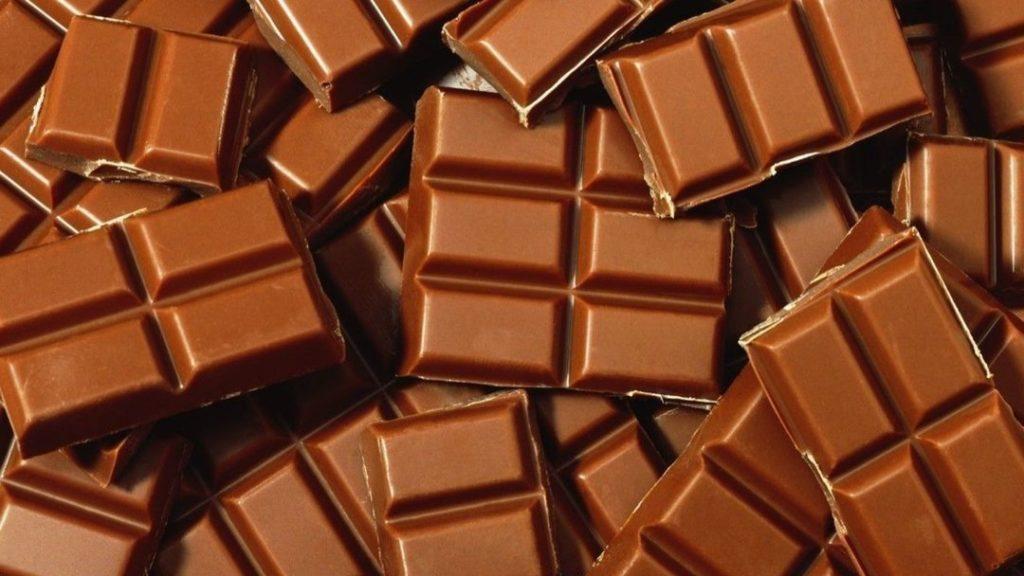 обычный шоколад