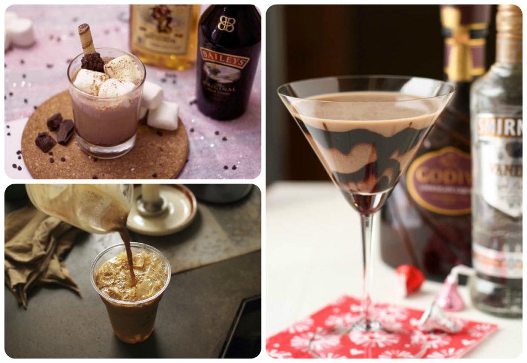 шоколадный коктейль для взрослых