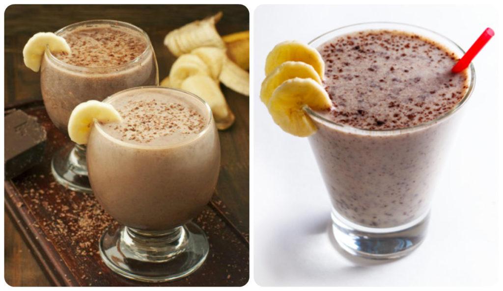 рецепт шоколадно-молочного коктейля