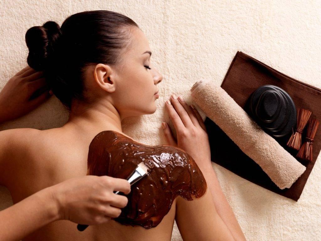 как делать шоколадное обертывание