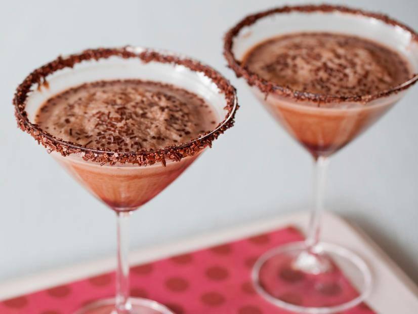 ванильный шоколадный коктейль