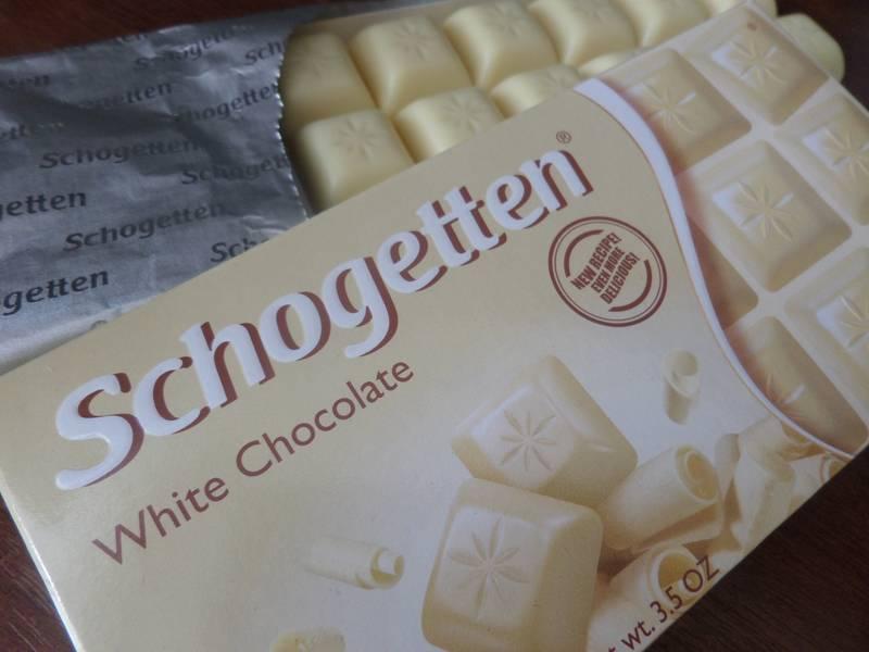 schogetten белый шоколад