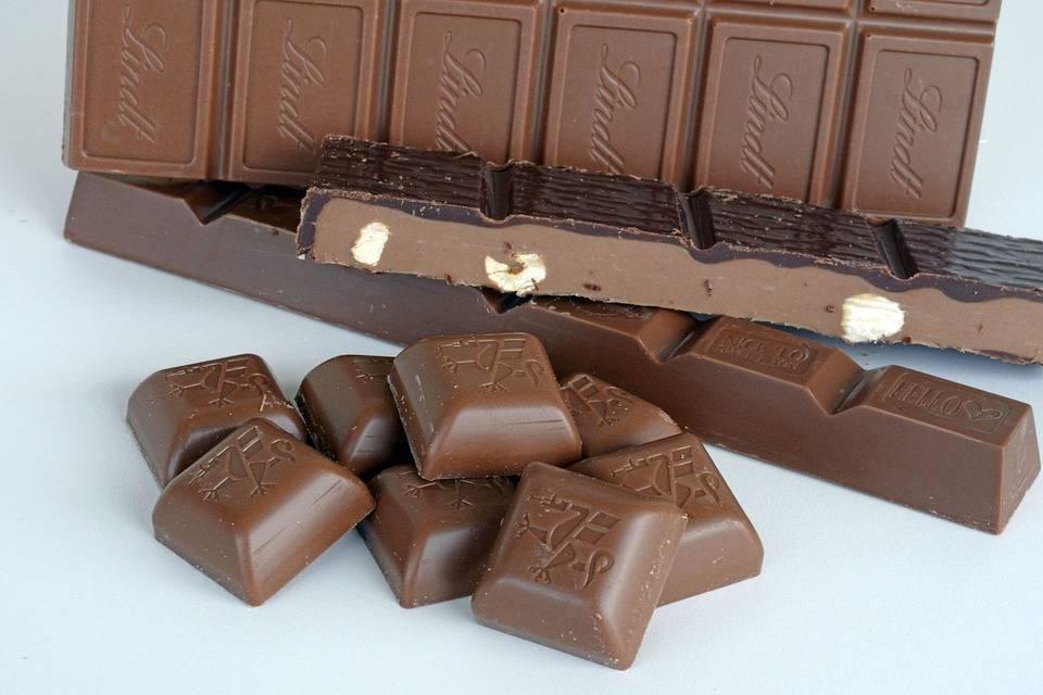 молочный шоколад состав