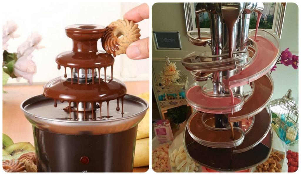 Шоколадный фонтан: как пользоваться?