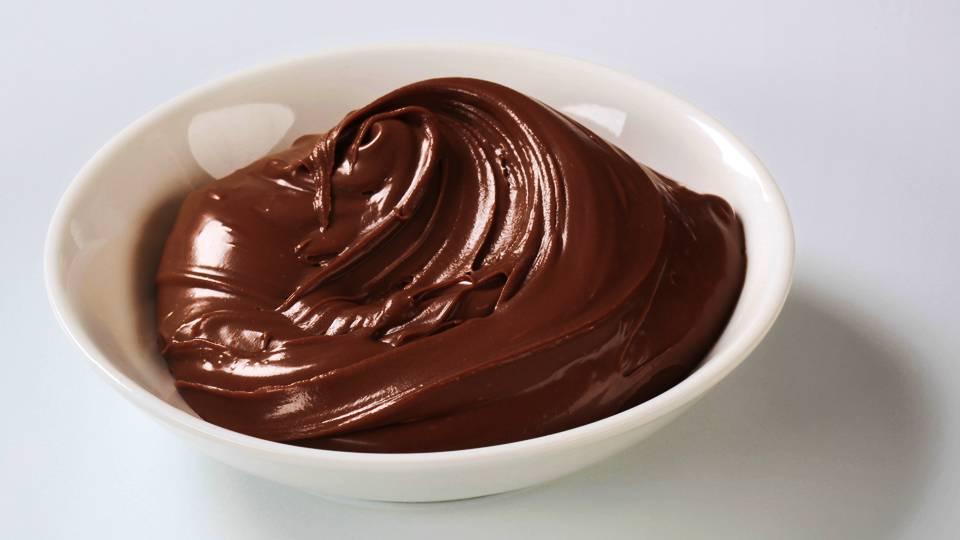 Шоколадное масло с черным шоколадом
