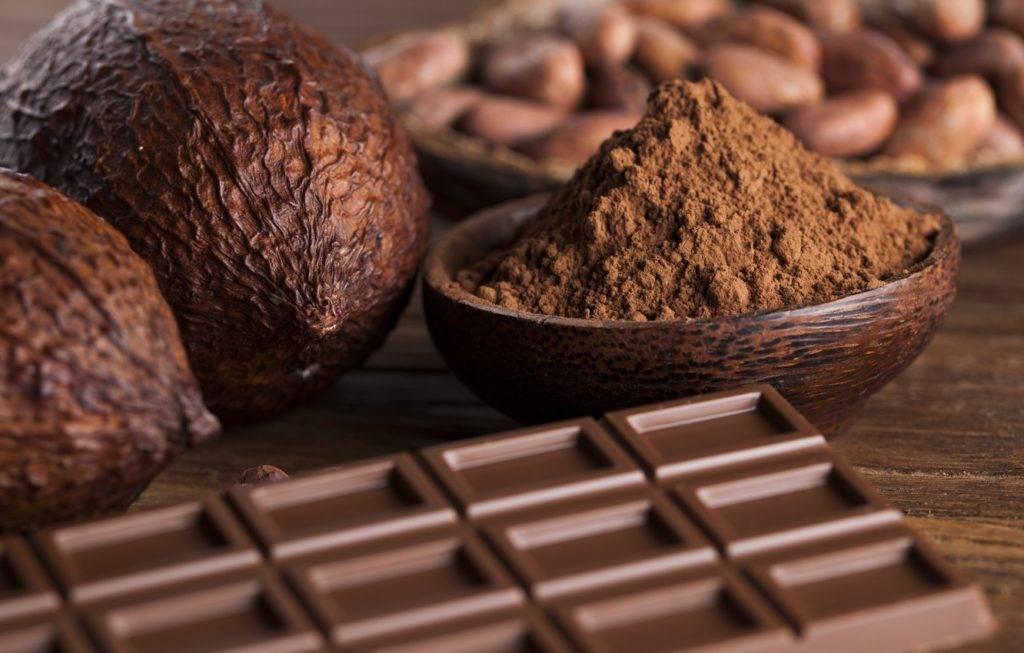 темный и горький шоколад