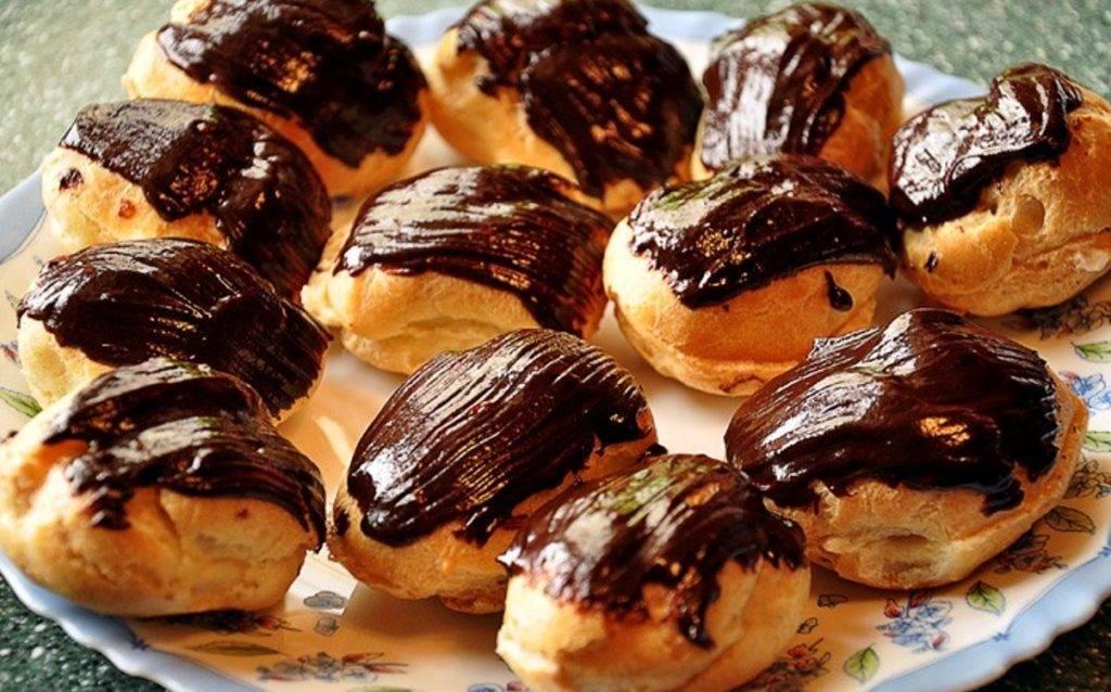 Булочки с шоколадным маслом