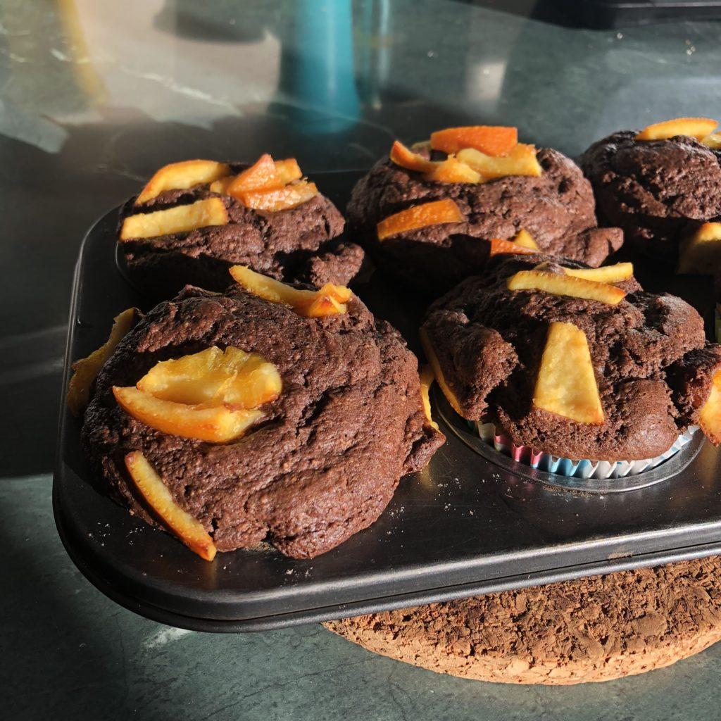 шоколадные маффины рецепт с цукатами