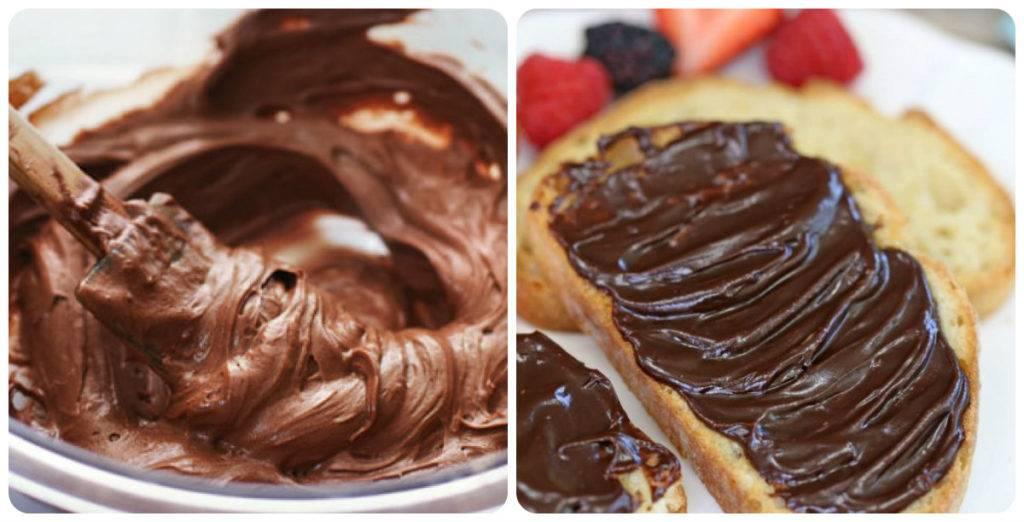 Шоколадная паста [рецепты с фото]