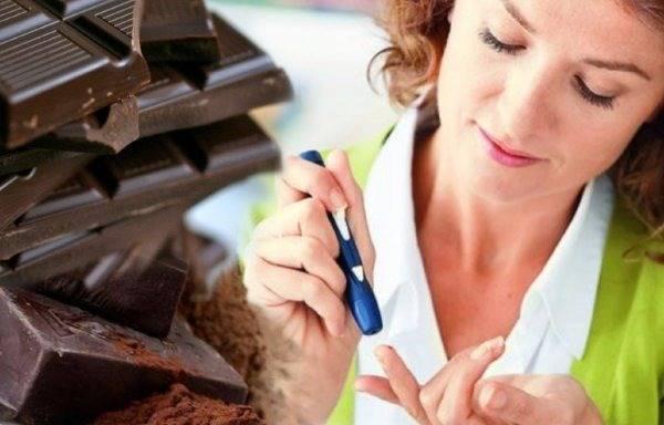можно ли шоколад при диабете