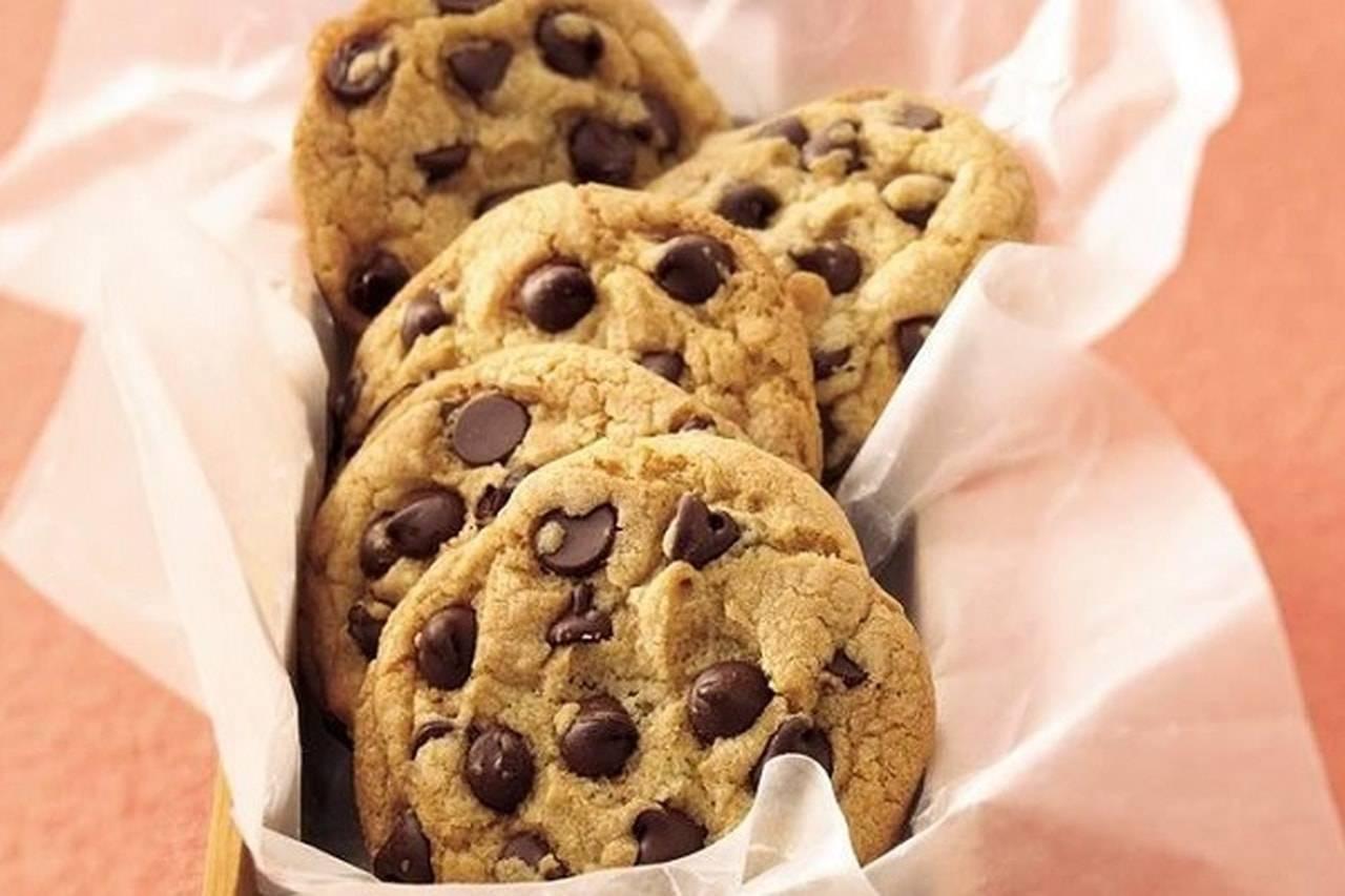 печенье с шоколадной крошкой рецепт