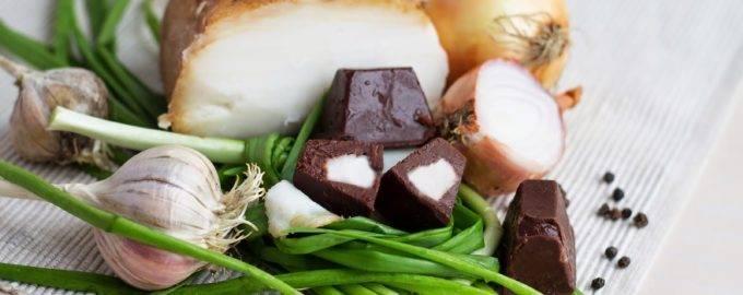 Сало в шоколаде рецепт с фото