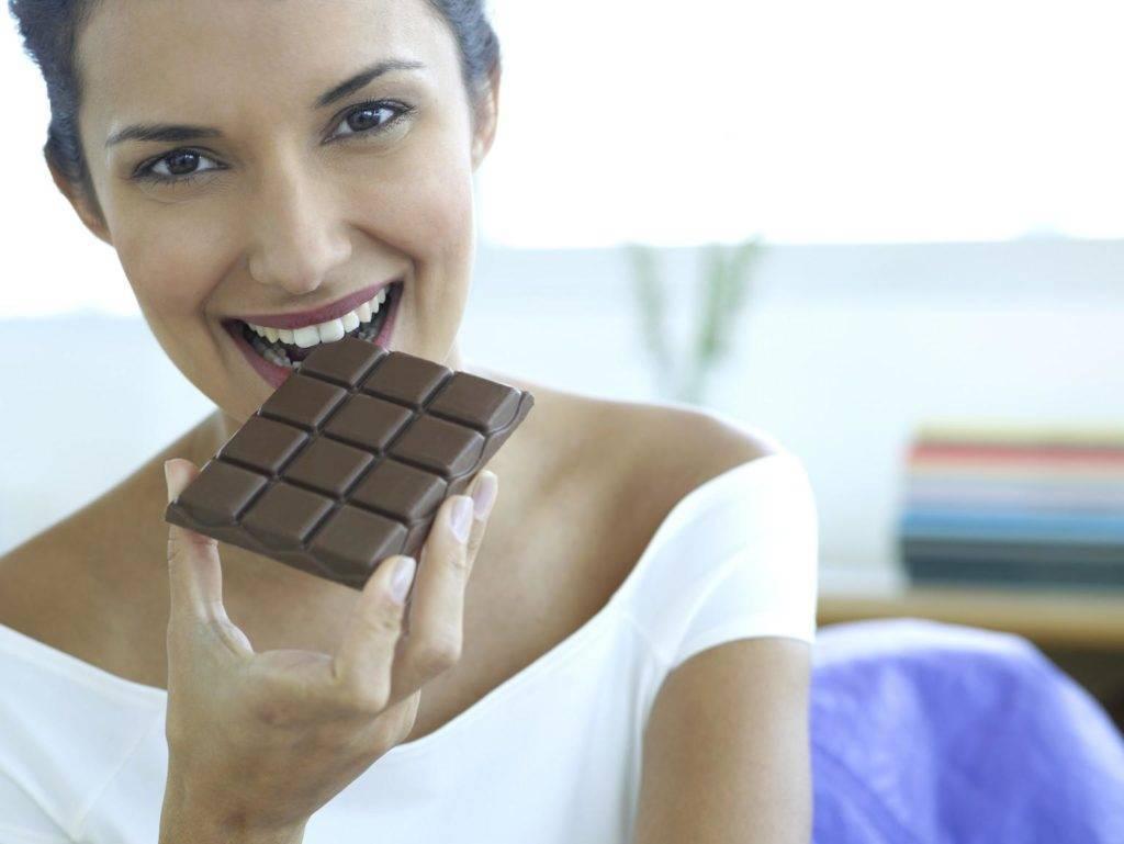 шоколад при низком давлении