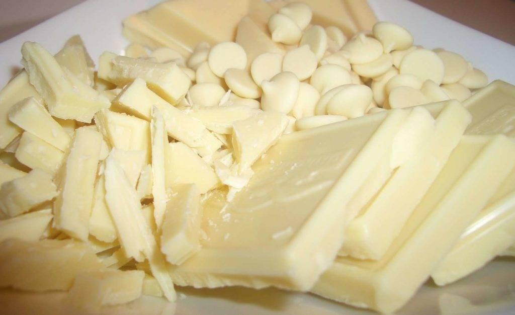 почему белый шоколад белый