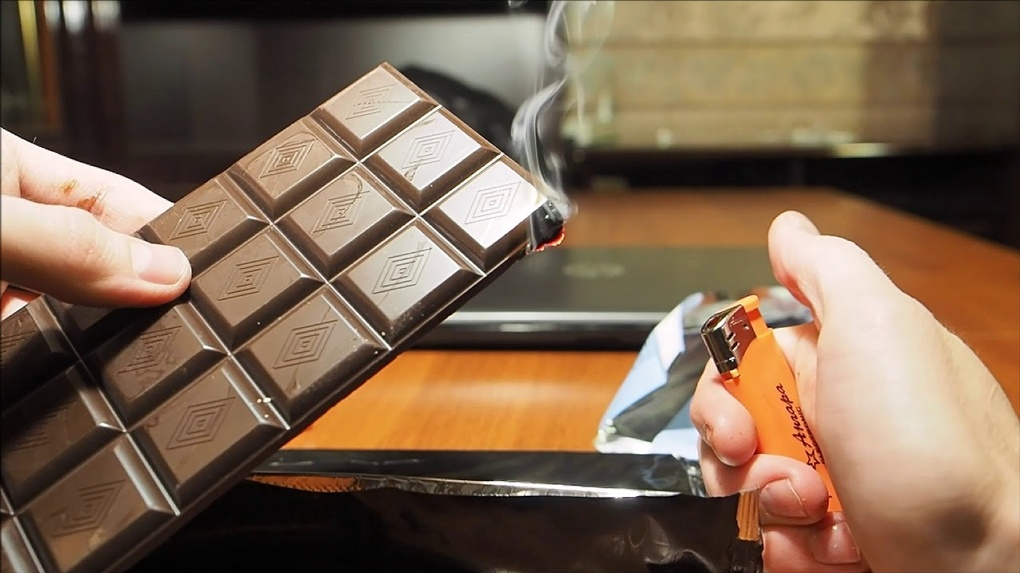 почему горит шоколад объяснение