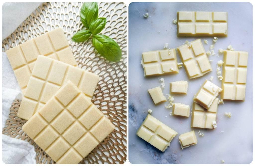 польза белого шоколада