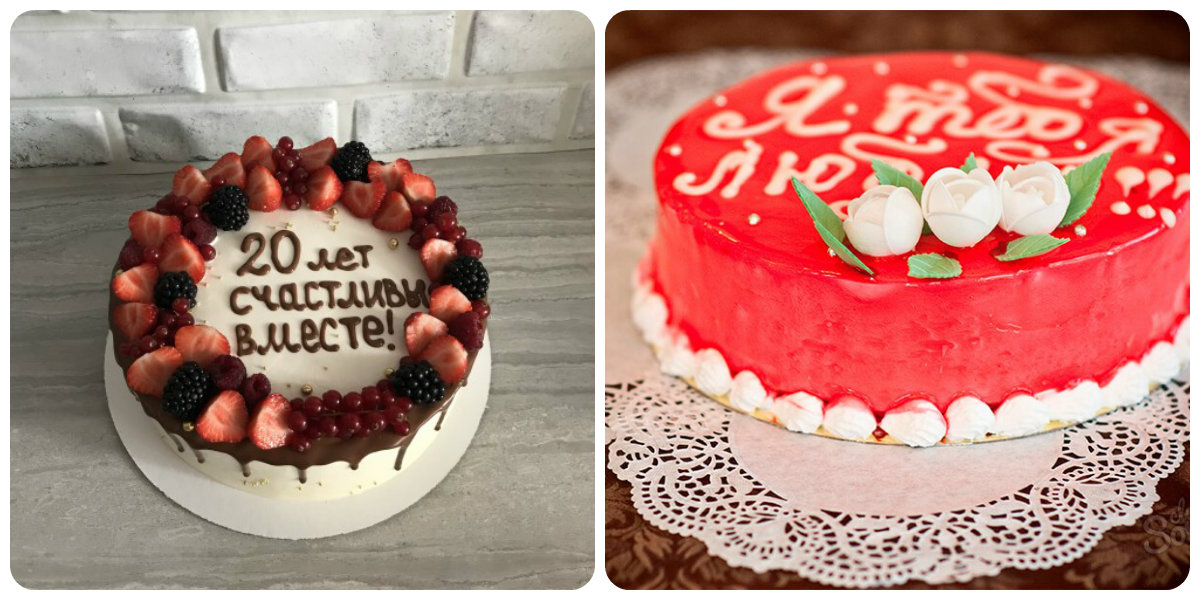 как сделать надпись на торте шоколадом
