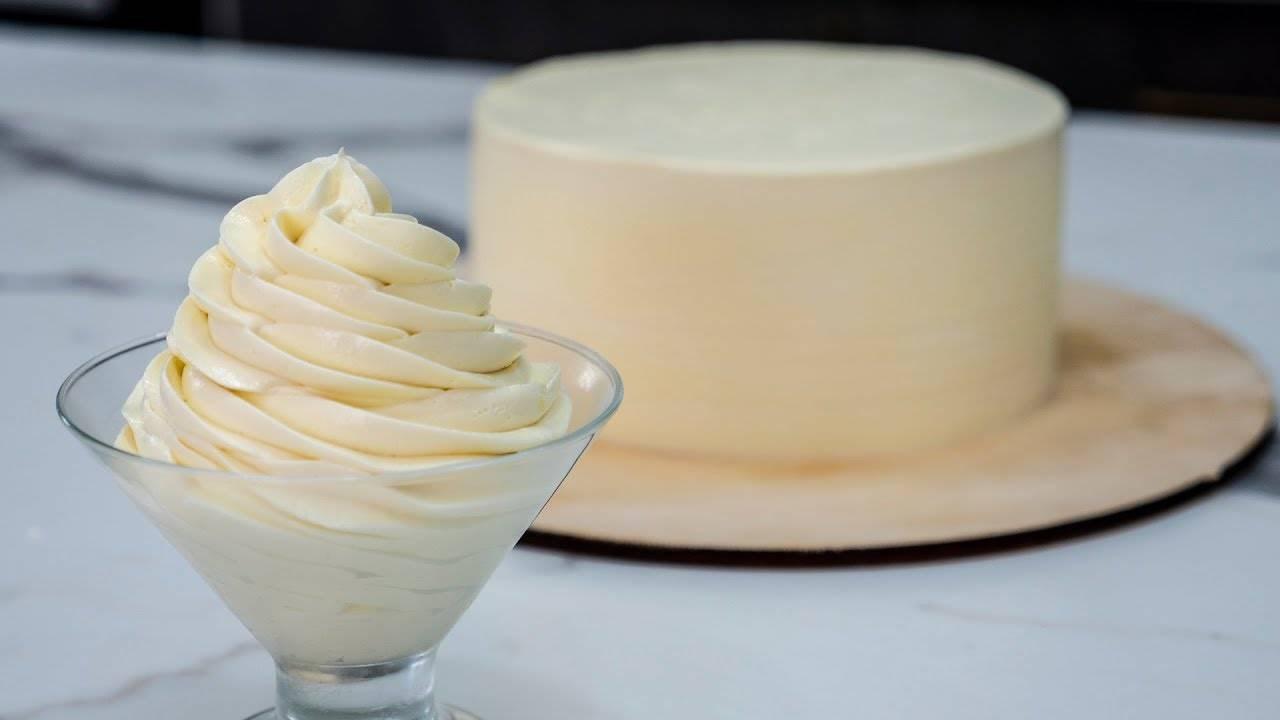 белый ганаш для покрытия торта