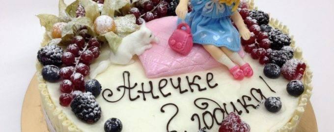 надпись на торте шоколадом