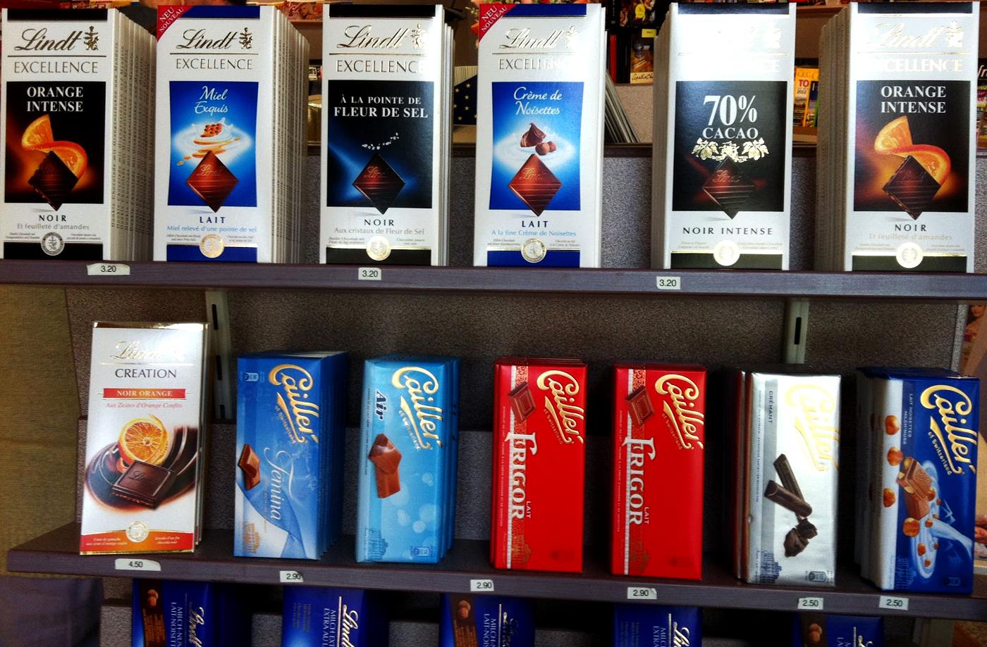 как выбрать шоколад в магазине