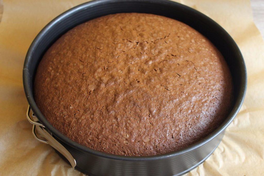 шоколадный бисквит на сметане рецепт