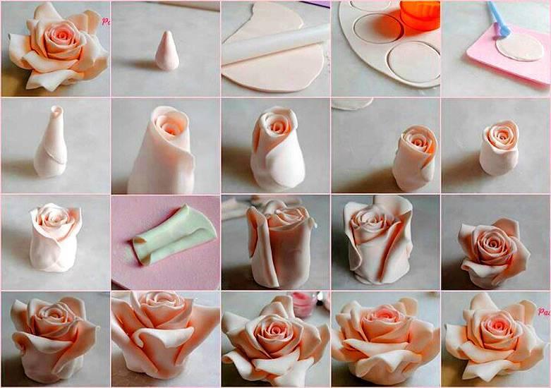 как сделать цветы из шоколада