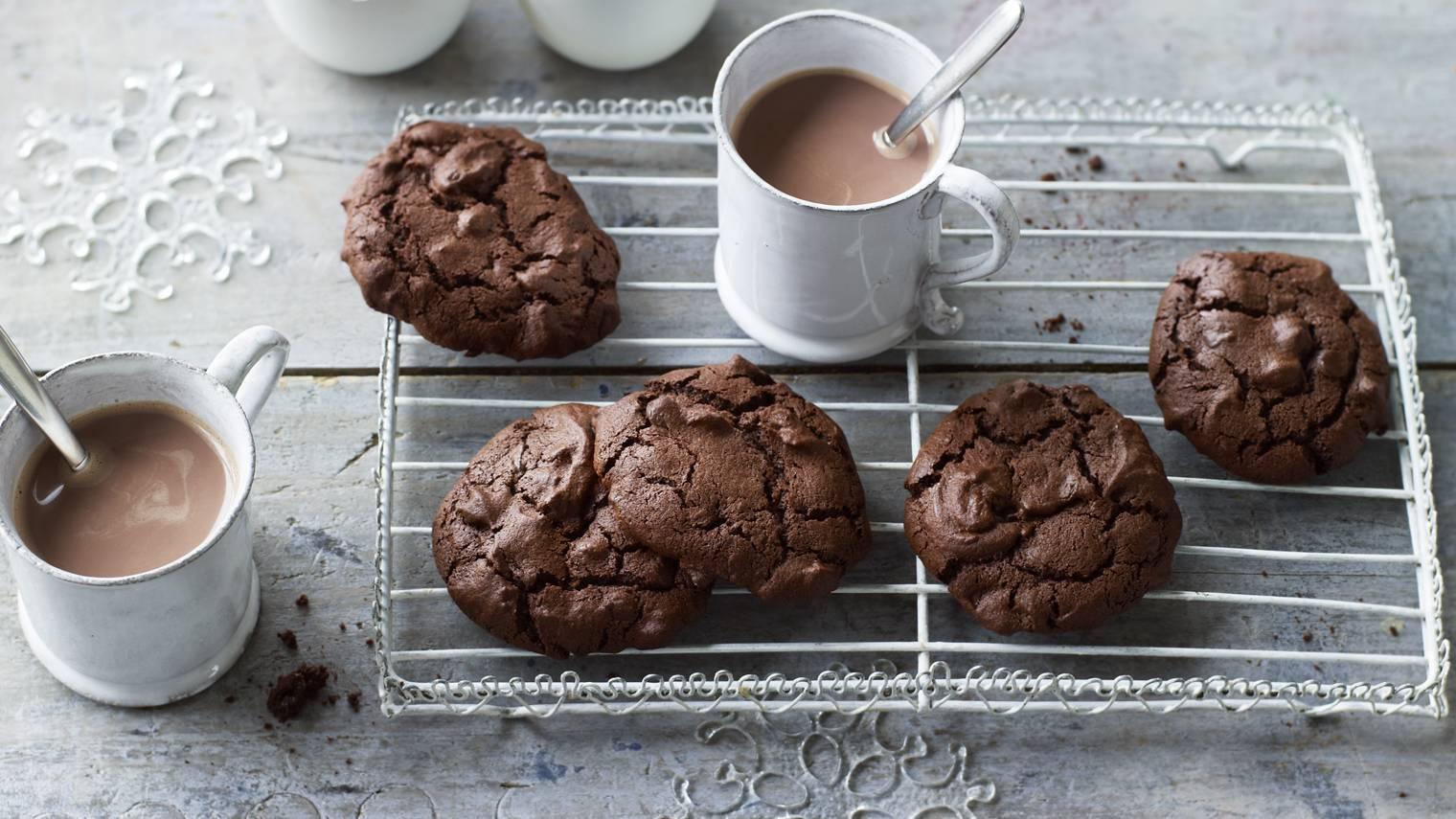 как сделать вкусное шоколадное печенье