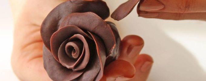 пластичный шоколад для лепки