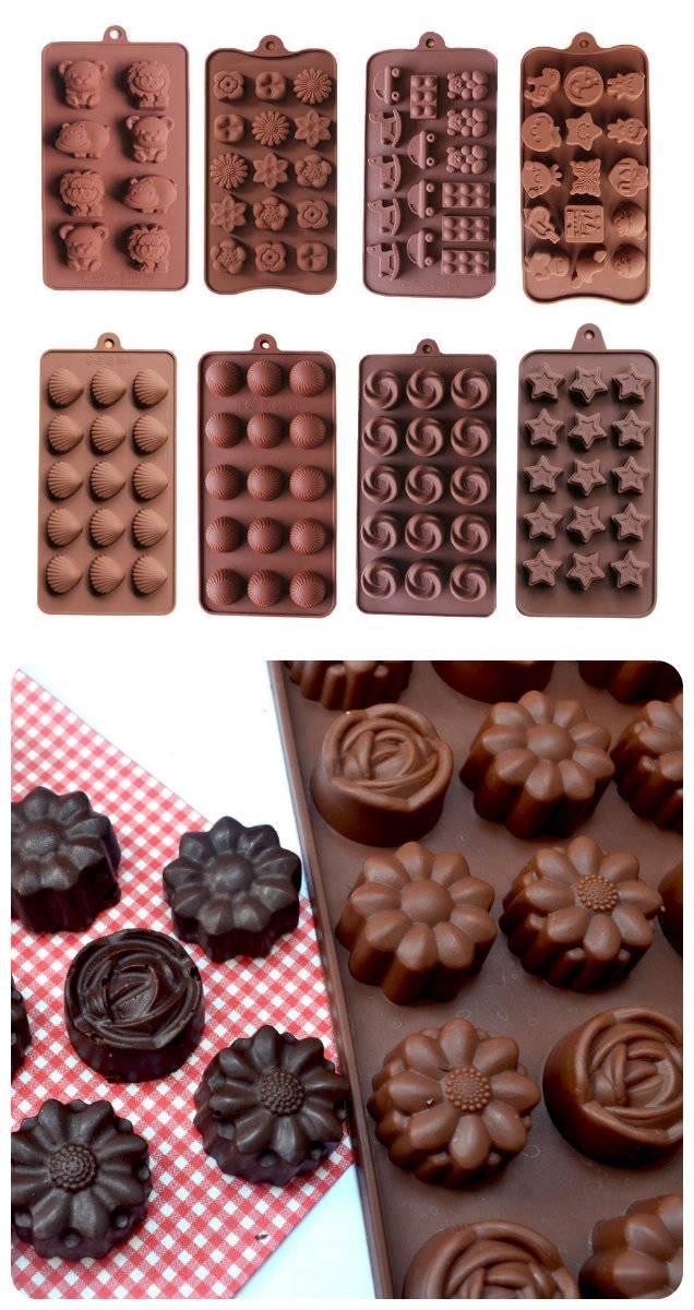 силиконовые формочки для шоколада