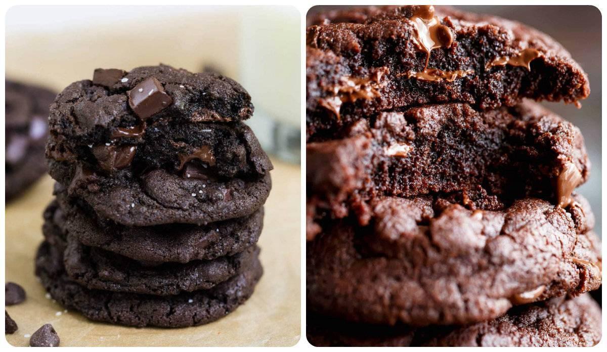 Супер шоколадное печенье рецепт с фото баннерах