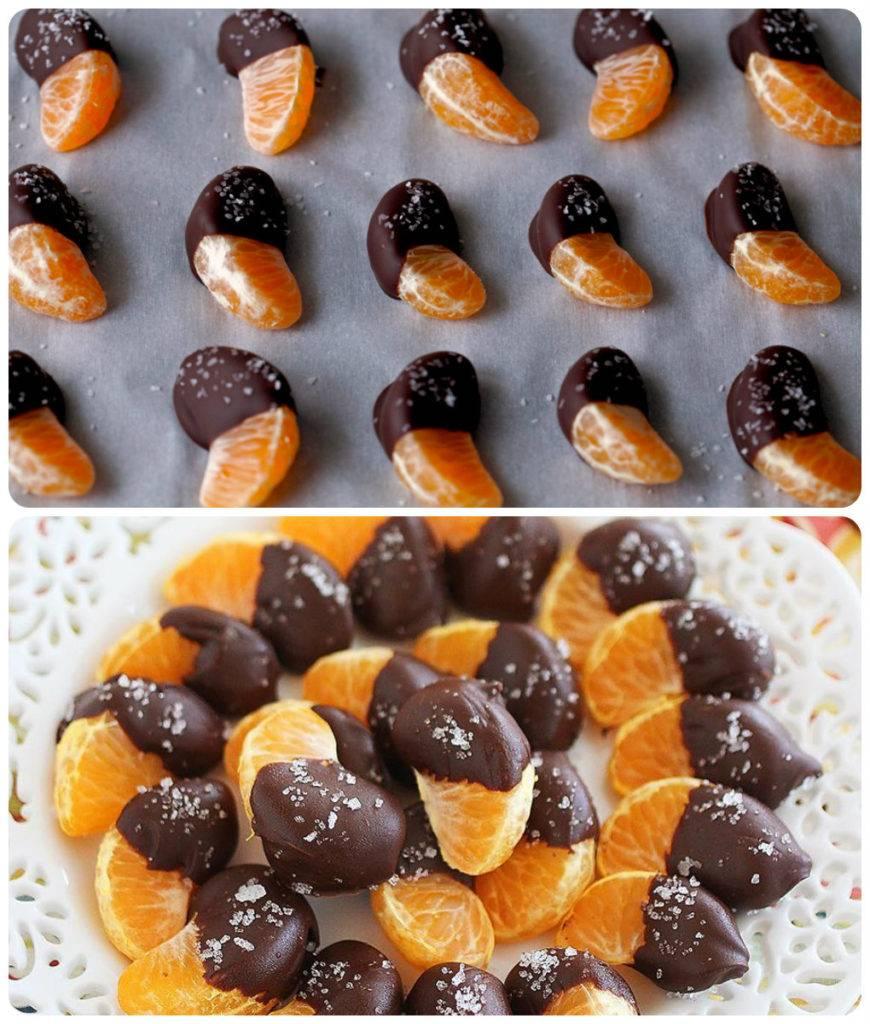 мандарин в шоколаде рецепт