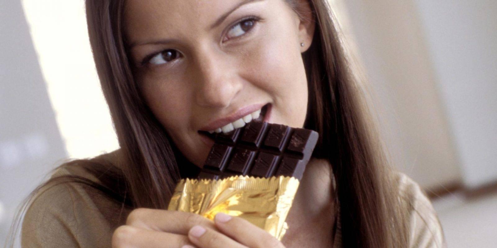 шоколад тает во рту