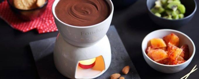 рецепт шоколадного фондю