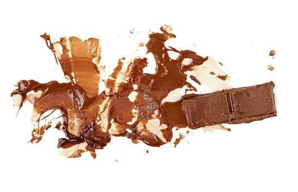 пятно от шоколада