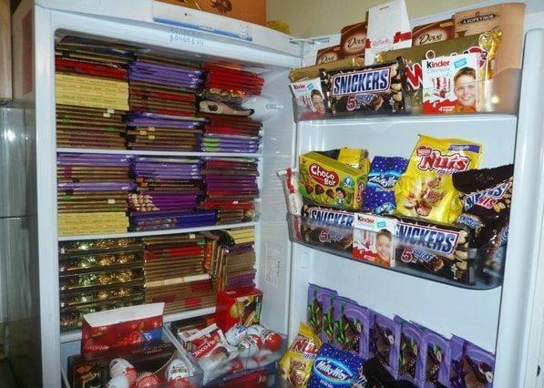 где хранить шоколад