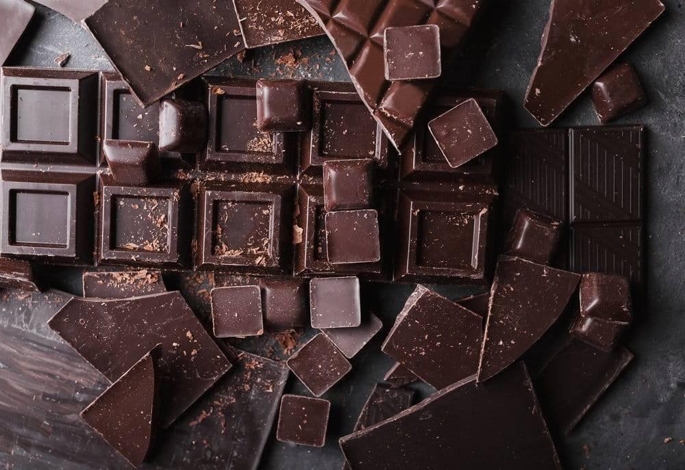 пальмовое масло и шоколад
