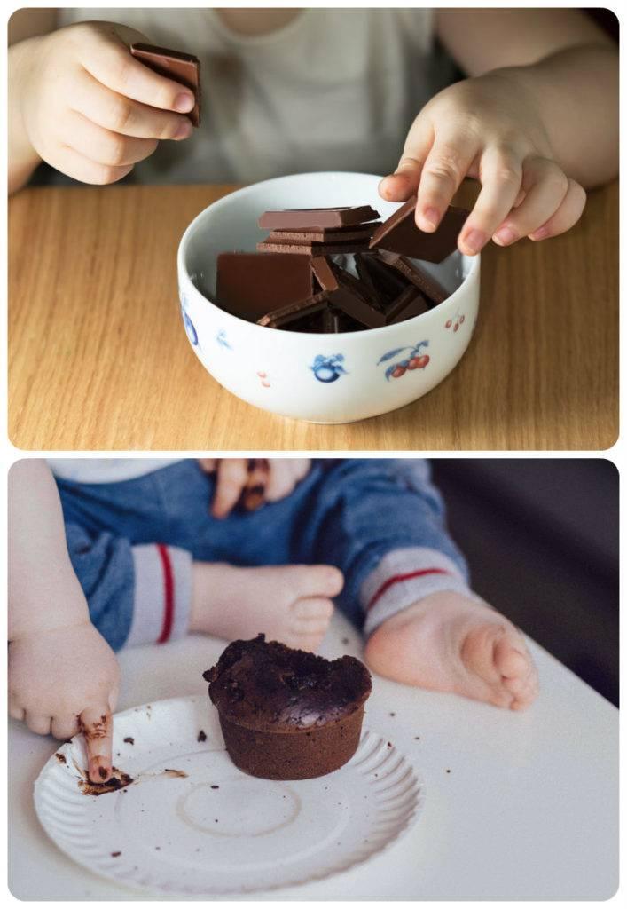 какой шоколад давать ребенку