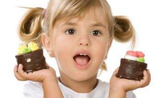 с какого возраста можно детям шоколад