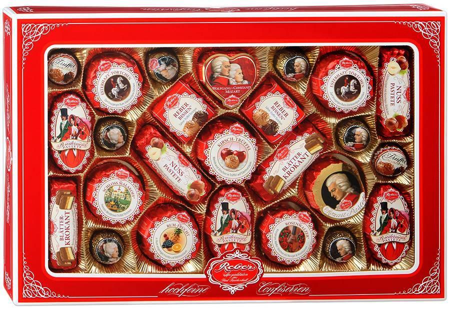 немецкие конфеты Reber Mozart Patrizier