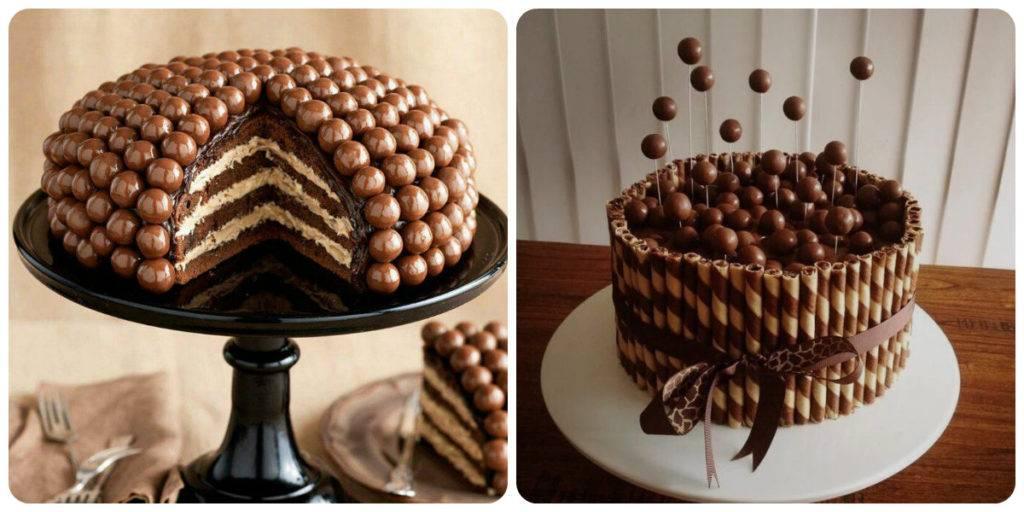 как сделать шары из шоколада