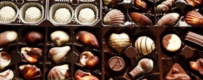 самые вкусные конфеты в коробках