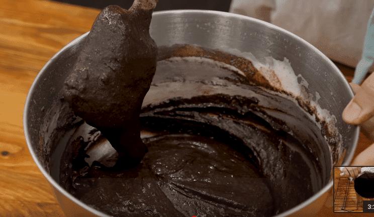 Шоколадный торт на Новый год
