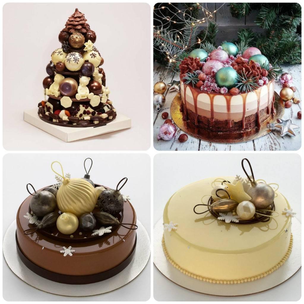 новогодние шоколадные шары