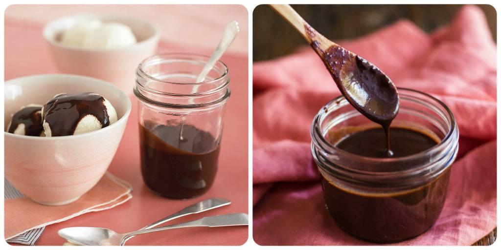 шоколадный сироп для мороженого