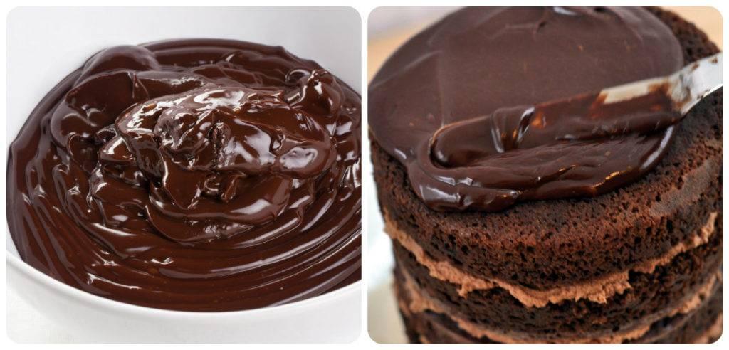 шоколадный ганаш для покрытия торта