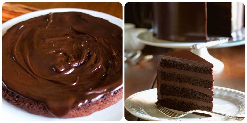 шоколадный ганаш для начинки